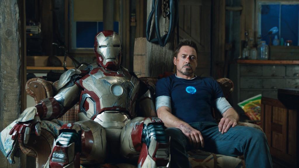 Iron Man 3 - Robert Downey Jr. as Tony Stark