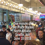 One Minute of Pike Place Market