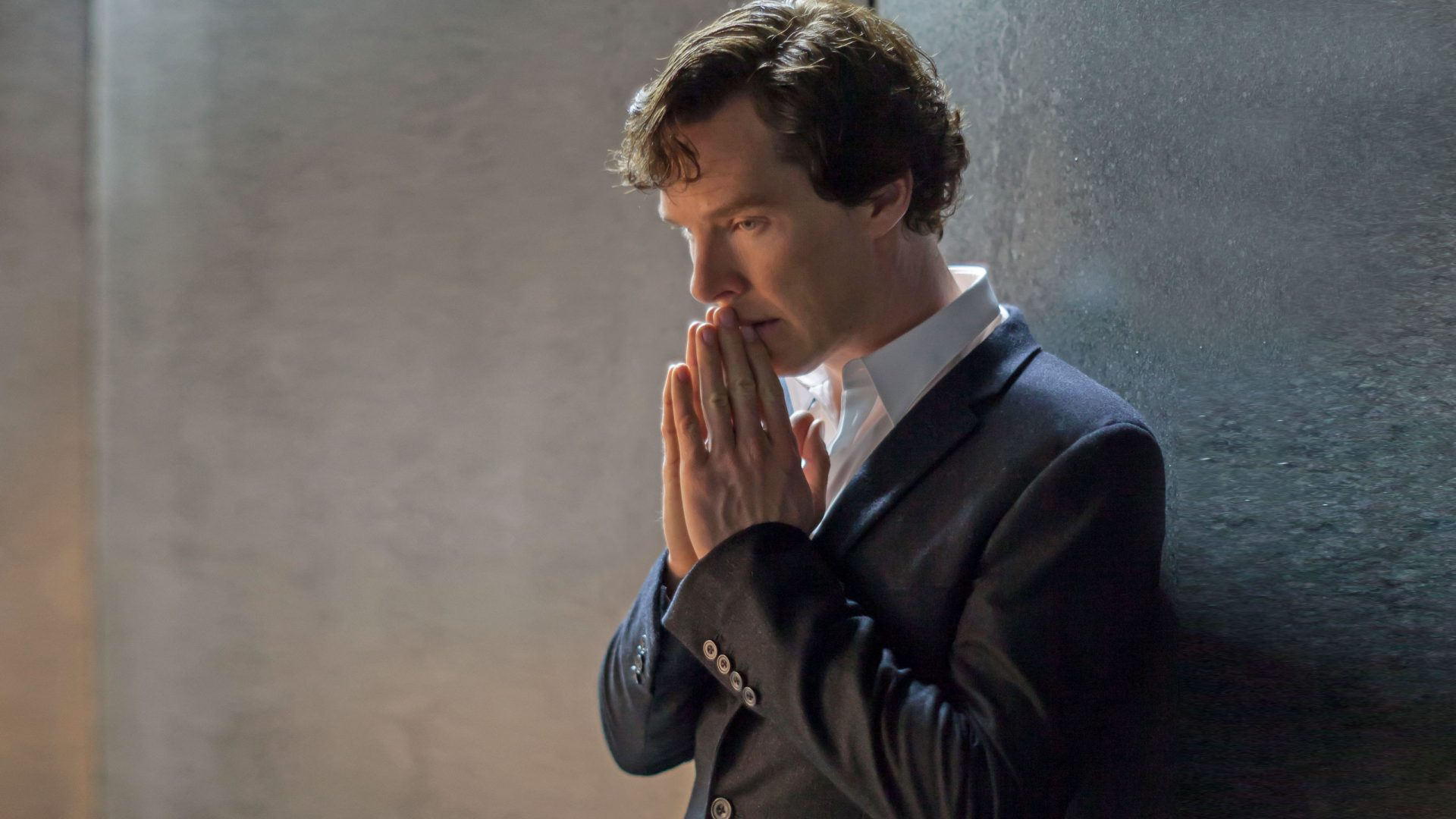 Sherlock Holmes prays for a new screenwriter.